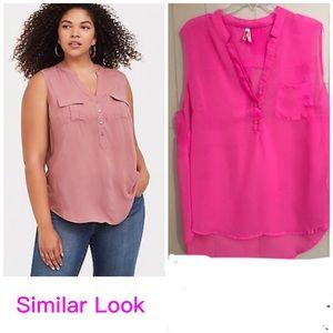 Live 4 Truth Sheer Hot Pink Shirt